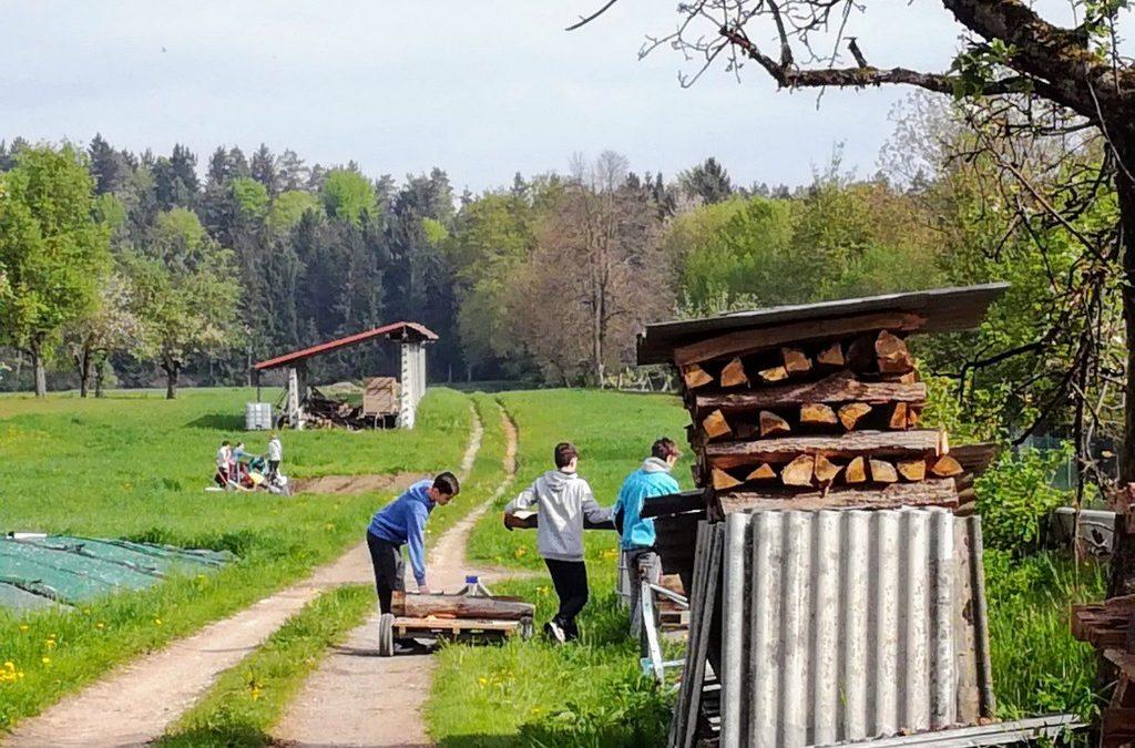 Obisk kmetije